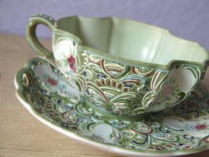 1950s Japanese Teacup Set