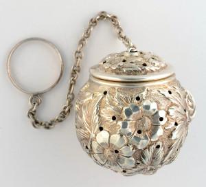Stieff Sterling Silver Tea Ball
