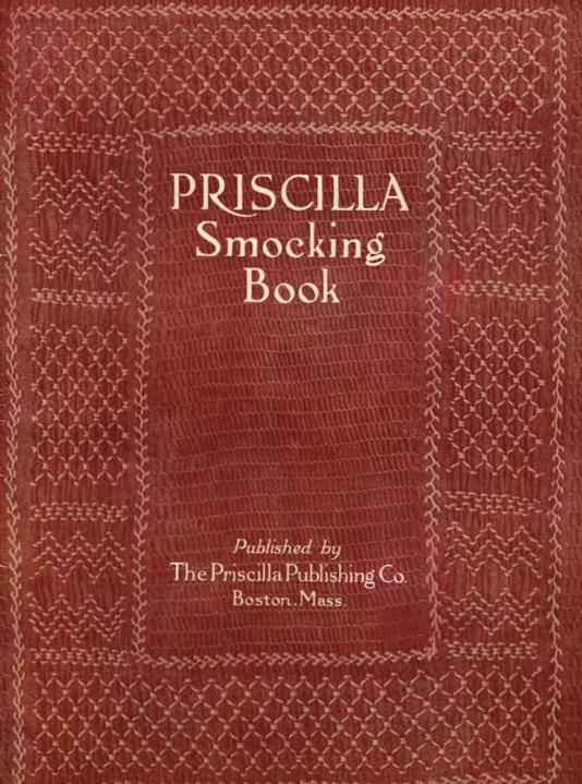 priscilla smocking book