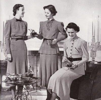"""Tea"" Vogue, 1936"