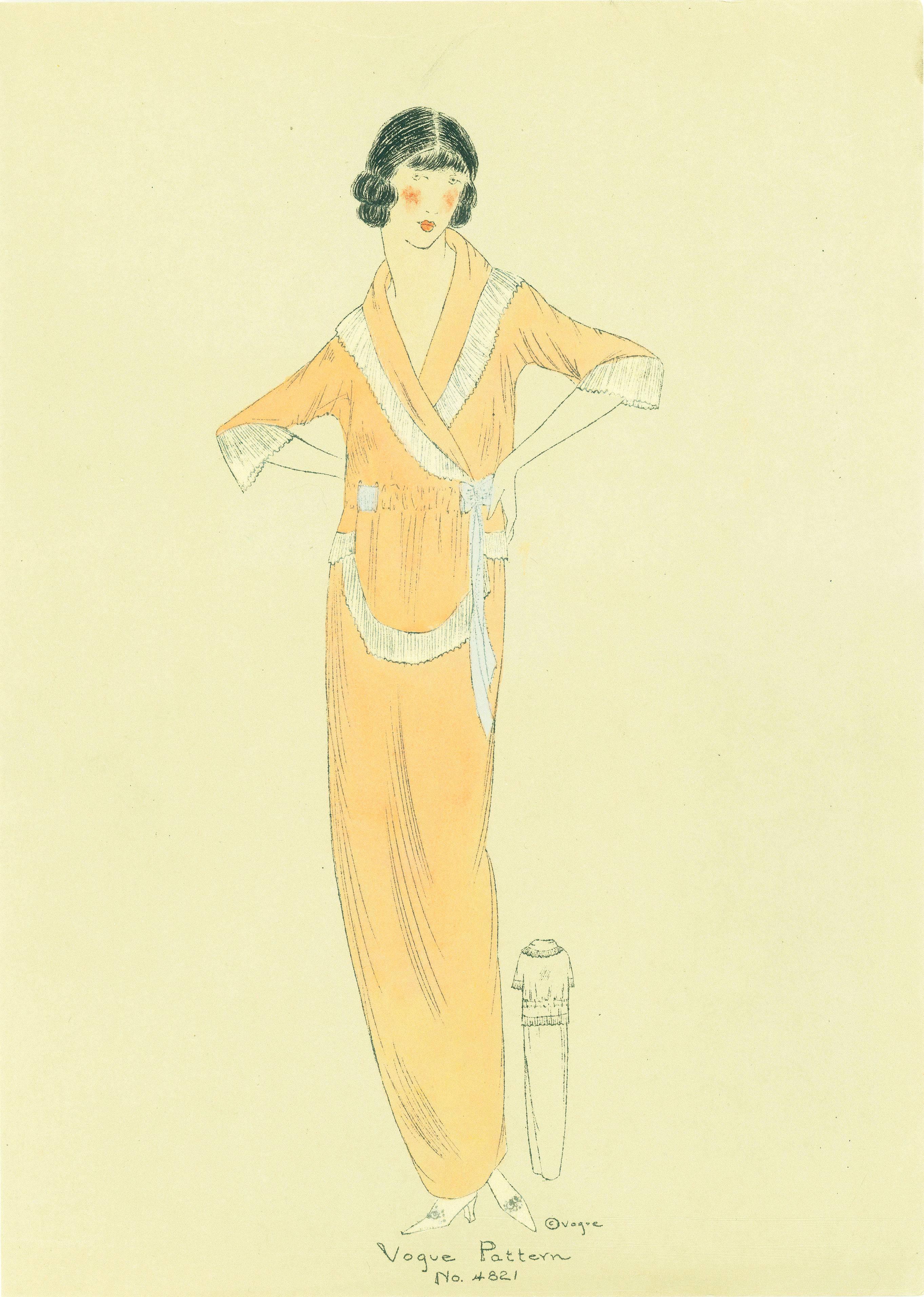 1910s Vogue Pattern 4821