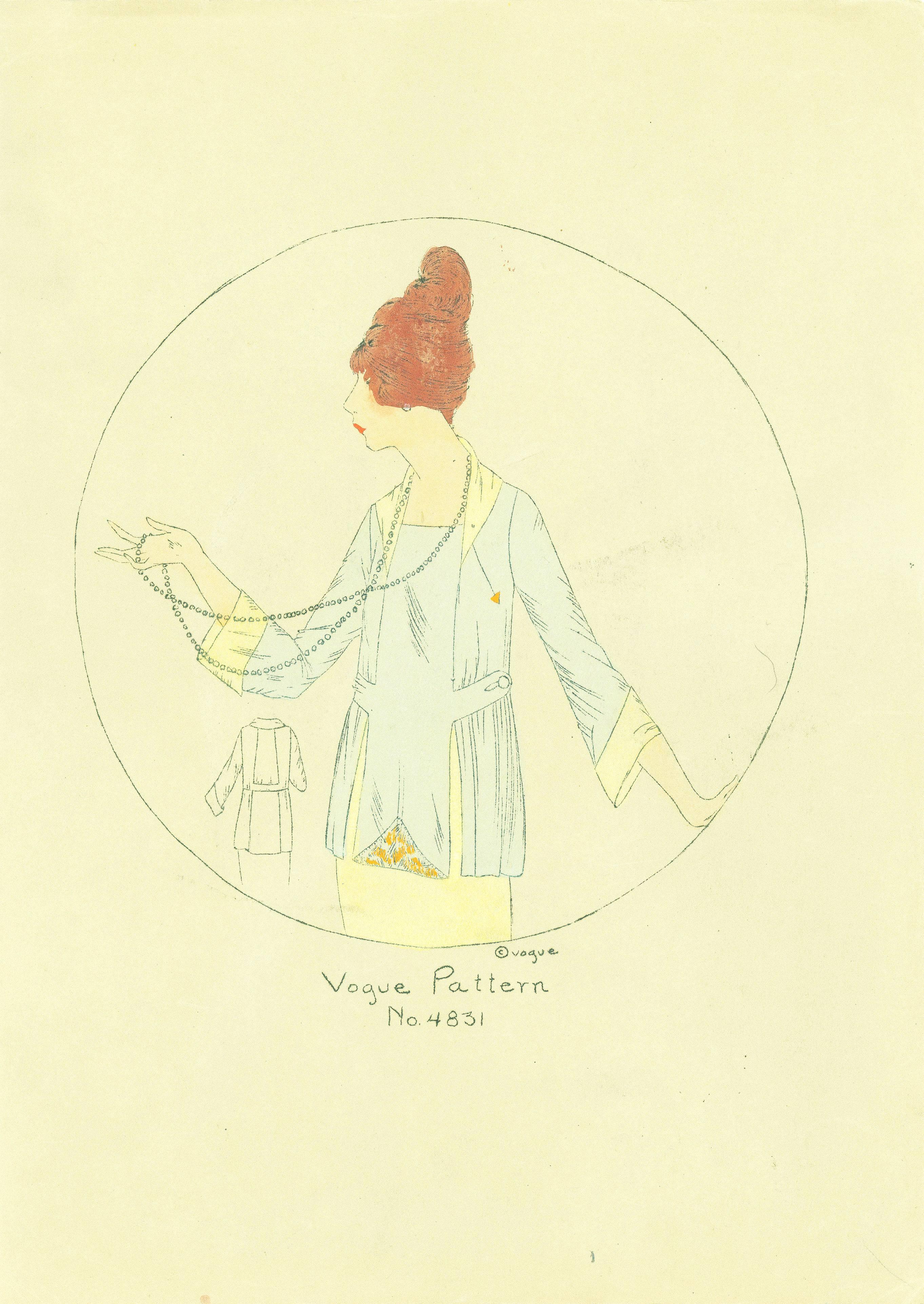 1910s Vogue Pattern 4831
