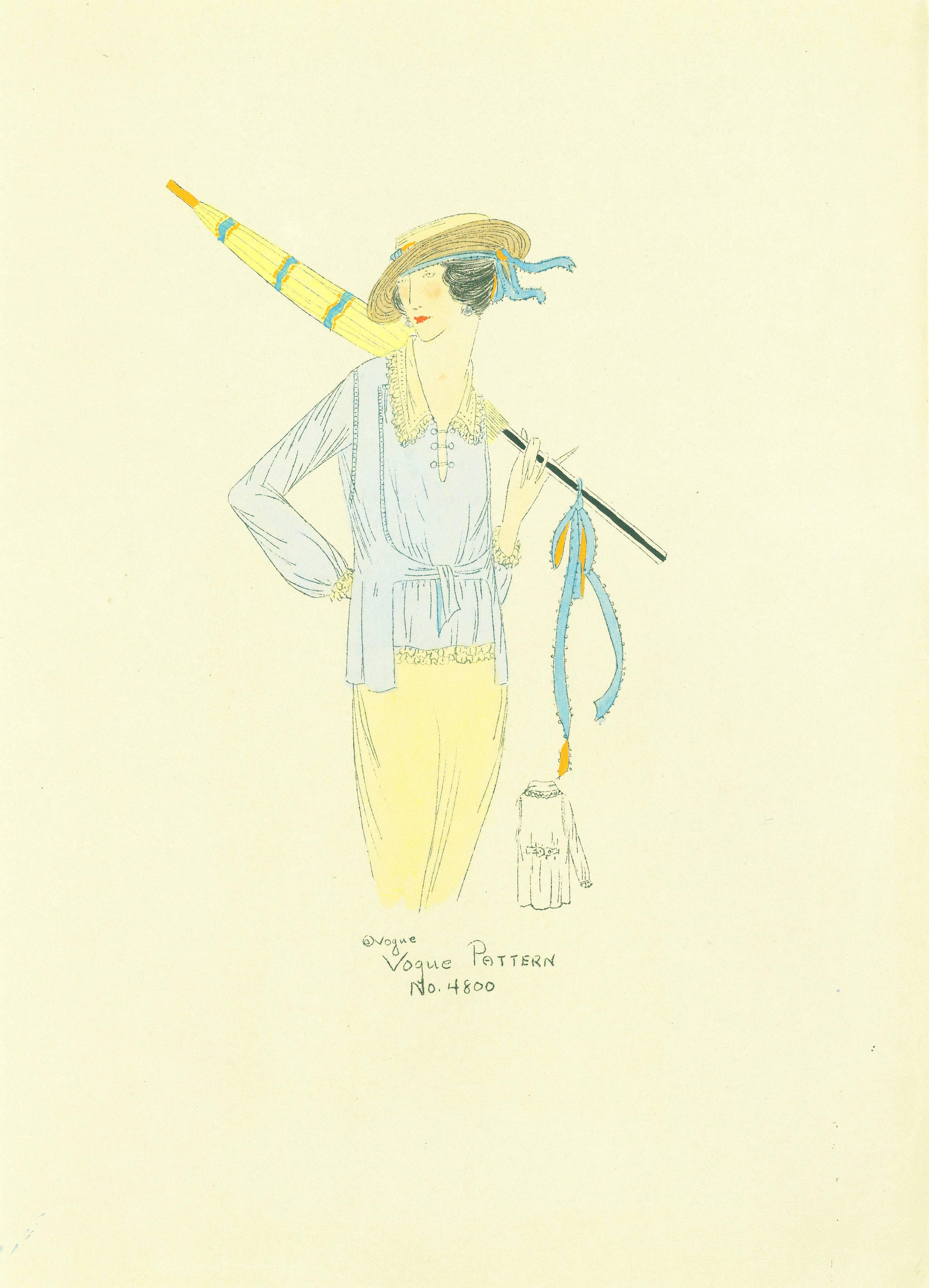 1910s Vogue Pattern 4800