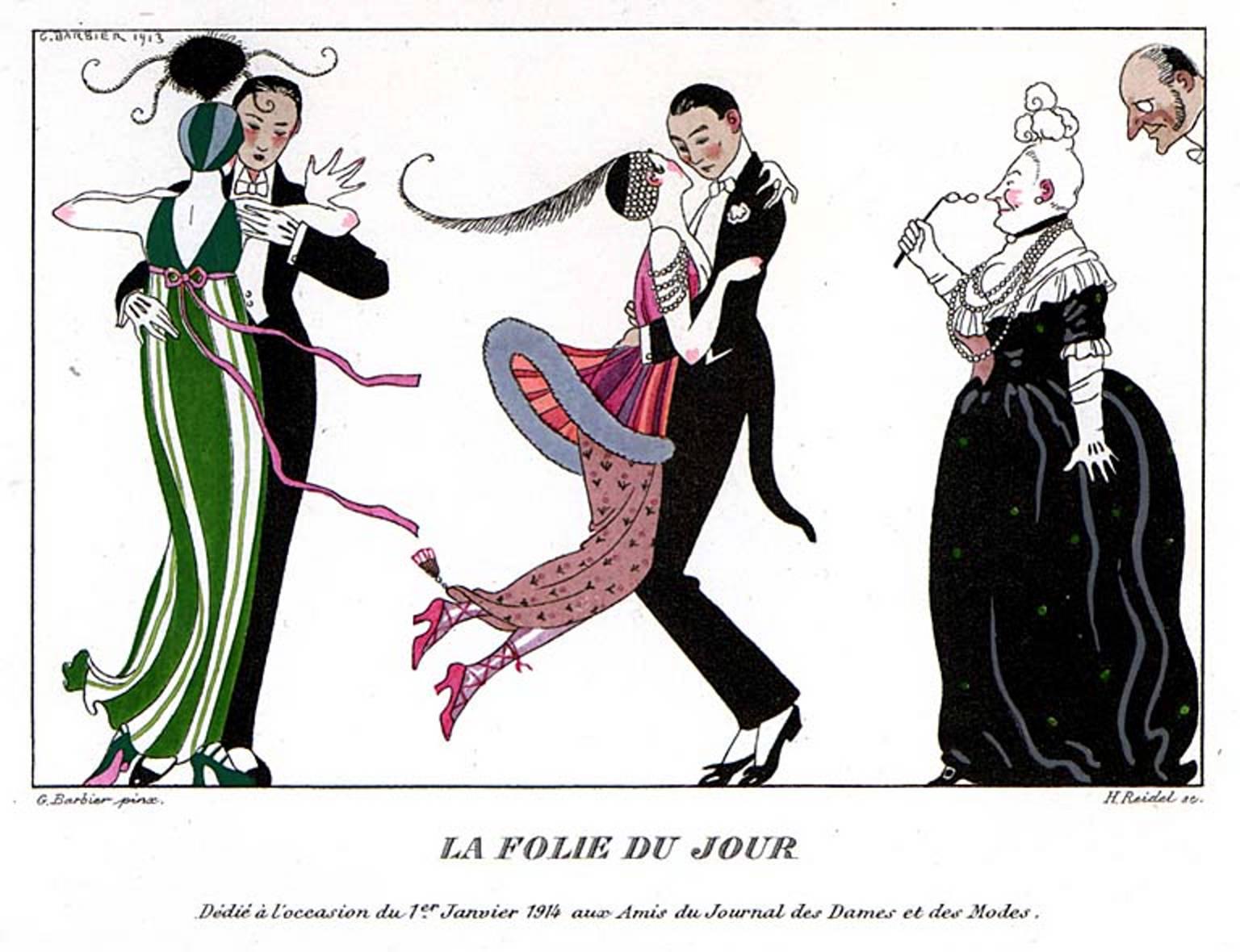 1913 La Folie du Jour George Barbier