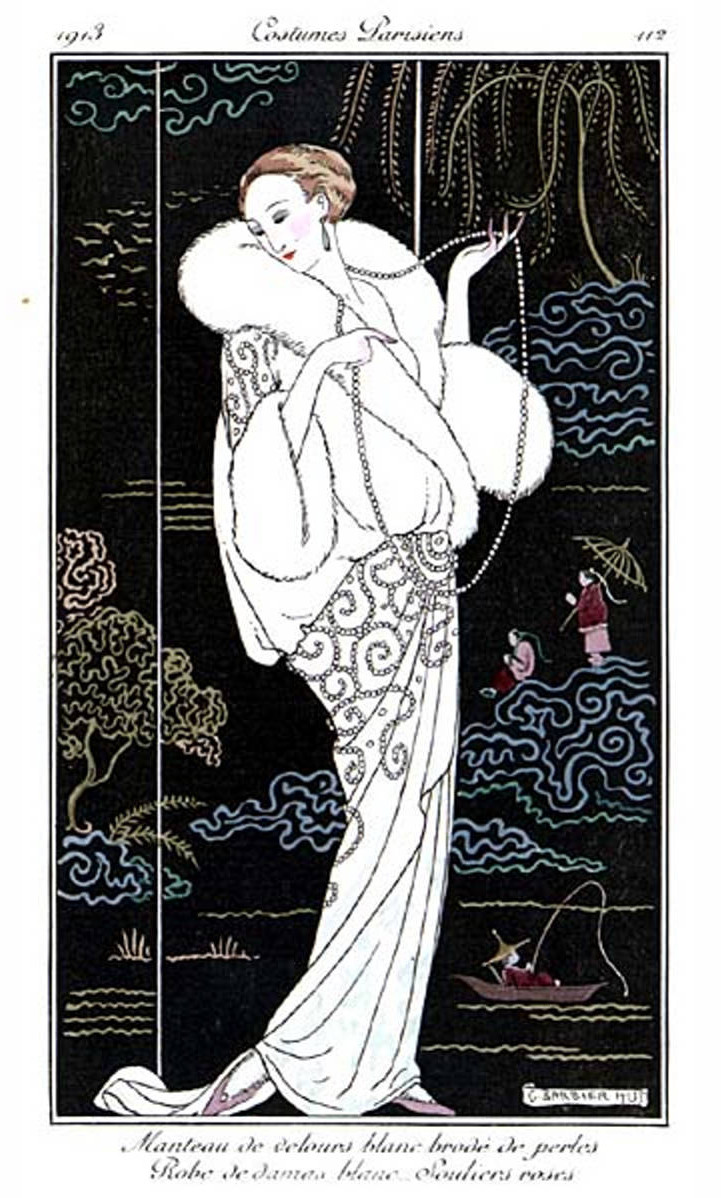 1913 Costumes Parisiennes George Barbier