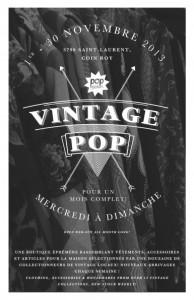 Vintage POP Montreal