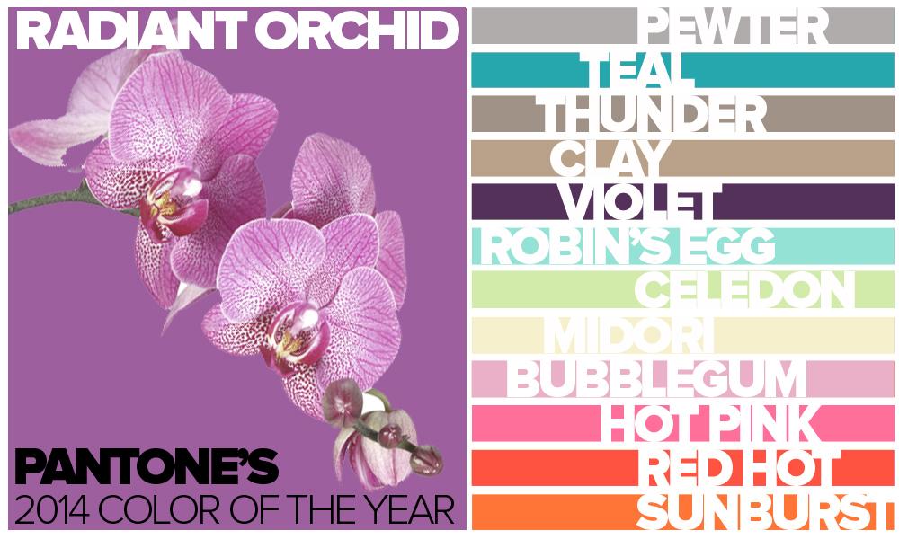 2014 Pantone Colors